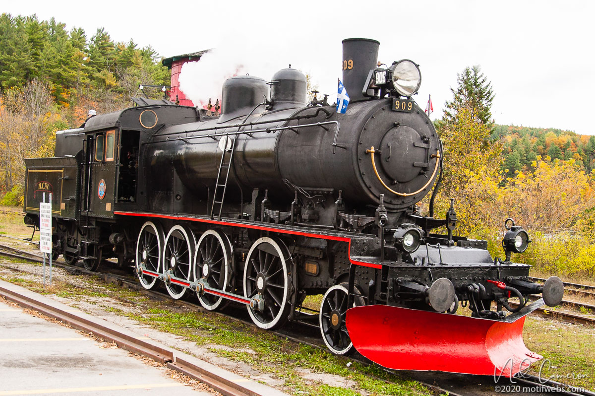 Steam Train, Wakefield, Quebec
