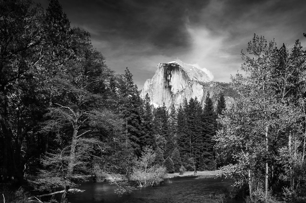 Half Dome from Merced River, Yosemite