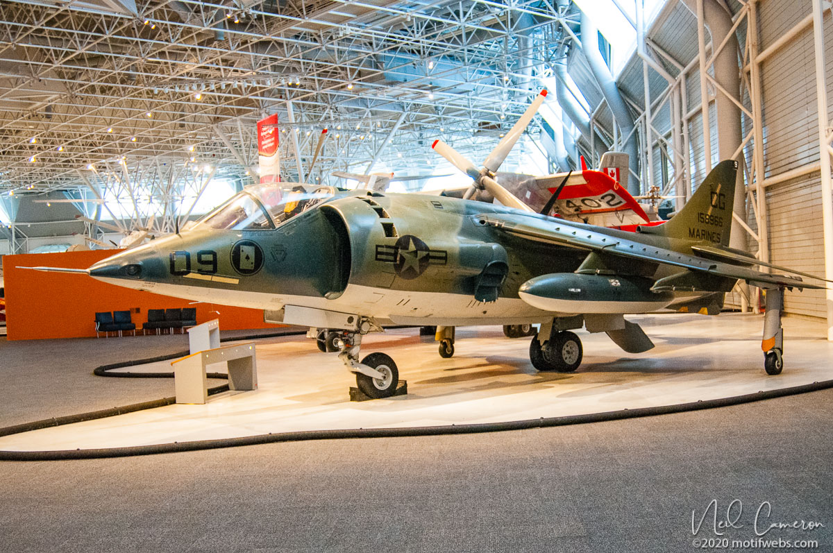 McDonnell Douglas AV-8B Harrier II, National Air Museum, Ottawa, Ontario